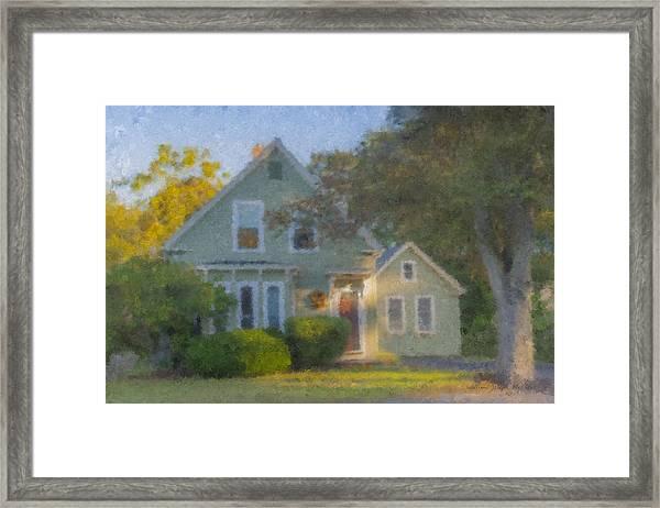 Amy's House Framed Print
