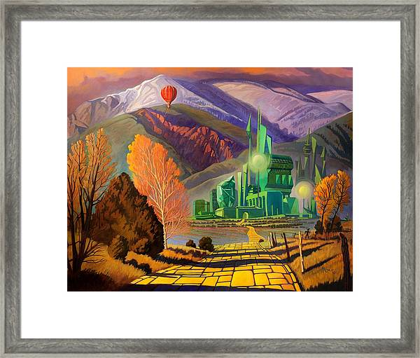 Oz, An American Fairy Tale Framed Print