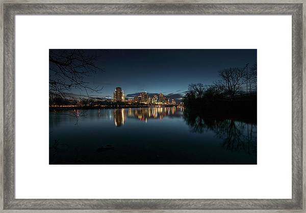 An Hour Before Sunrise Framed Print