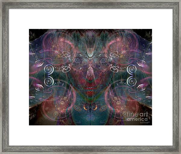 Infinite Correlation Framed Print
