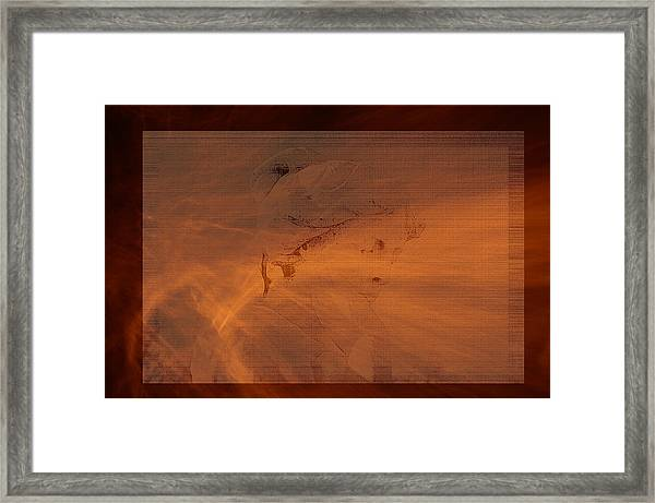 An Unfinished Life Framed Print