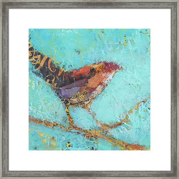 Framed Print featuring the painting Ana by Shelli Walters