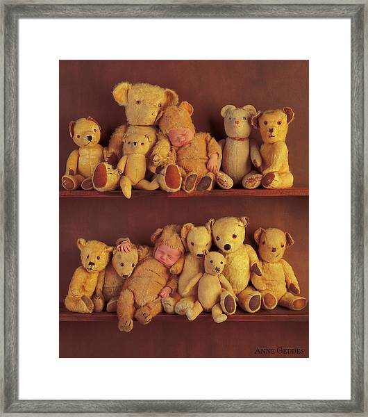 Anastasia And Tate Framed Print by Anne Geddes