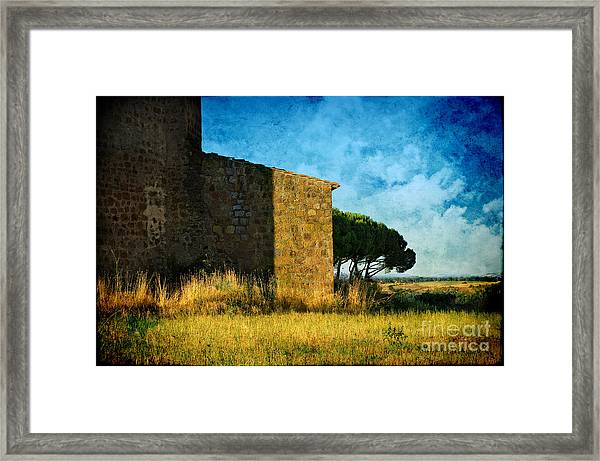 Ancient Church - Italy Framed Print