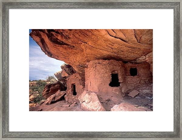 Ancient Dwelling Framed Print