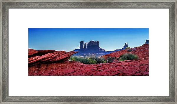 Ancient Monoliths Framed Print