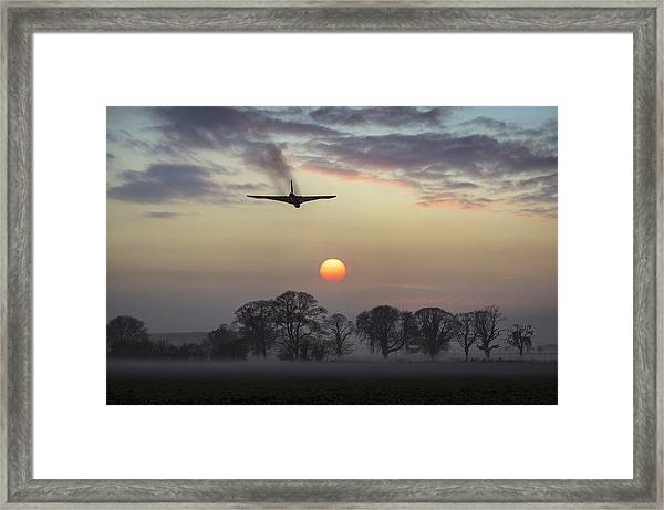 And Finally Framed Print