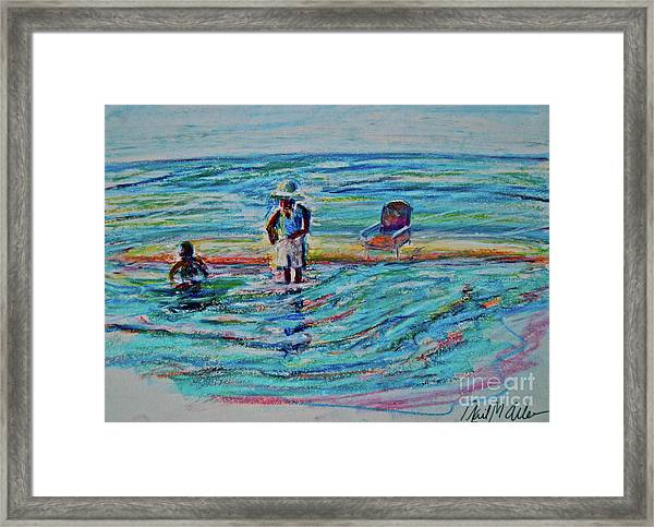 And So It Goes... Framed Print