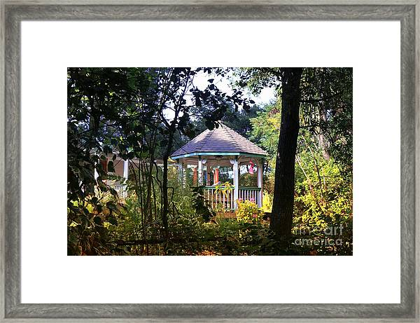 And The Living Is Easy Framed Print