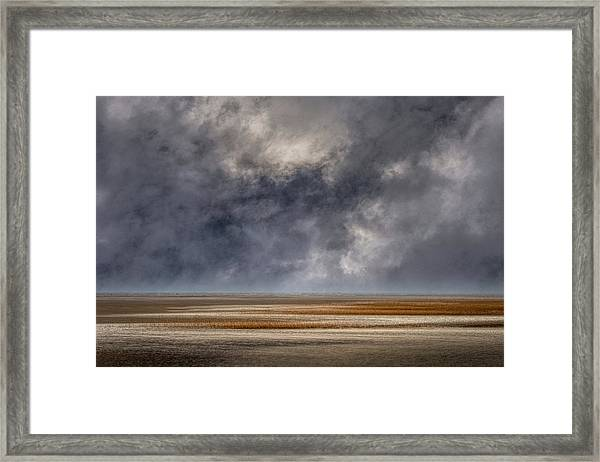 And The Rains Came Framed Print