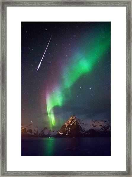 And Then It Hit Me Framed Print