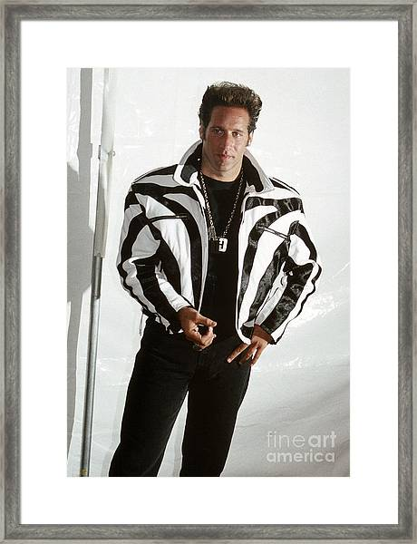 Andrew Dice Clay 1989 Framed Print