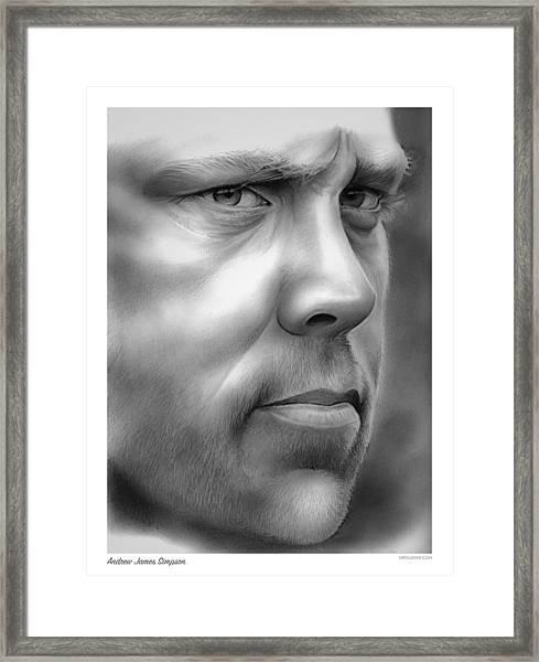 Andrew Simpson Framed Print
