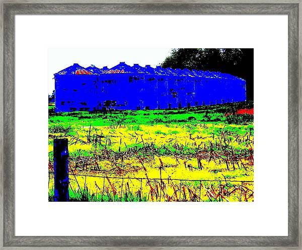 Andys Farm Framed Print