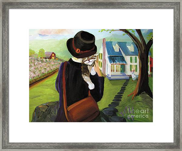 Andy's Home Framed Print