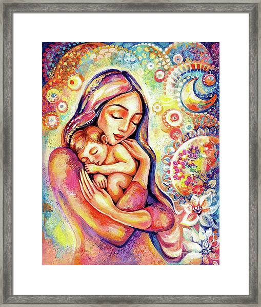 Angel Dream Framed Print