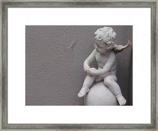 Angel Framed Print by Edan Chapman