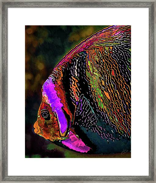 Angel Face 2 Framed Print