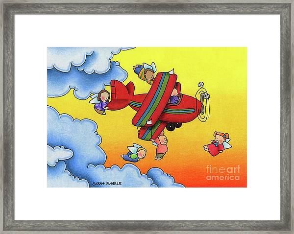 Angel Flight Framed Print
