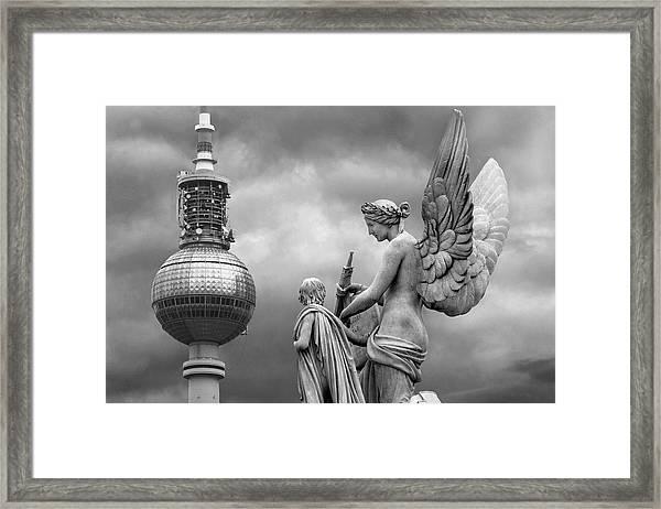 Angel In Berlin Framed Print