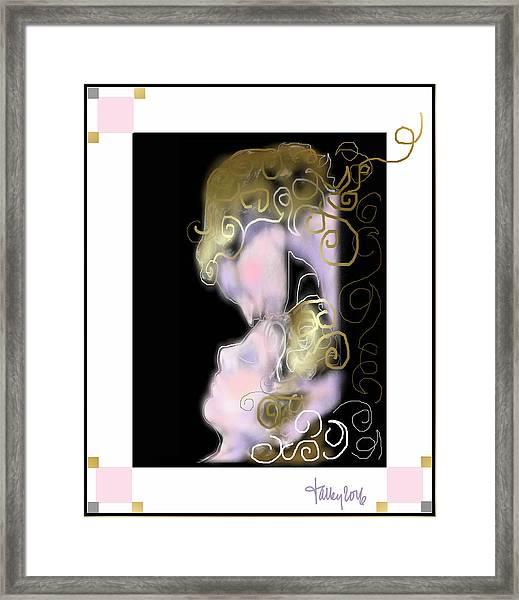 Angel Of Death Kiss Framed Print