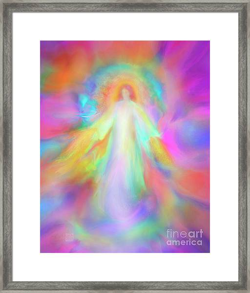 Angel Of Forgiveness And Compassion Framed Print