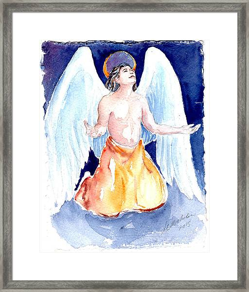 Angel Of Gratitude Framed Print