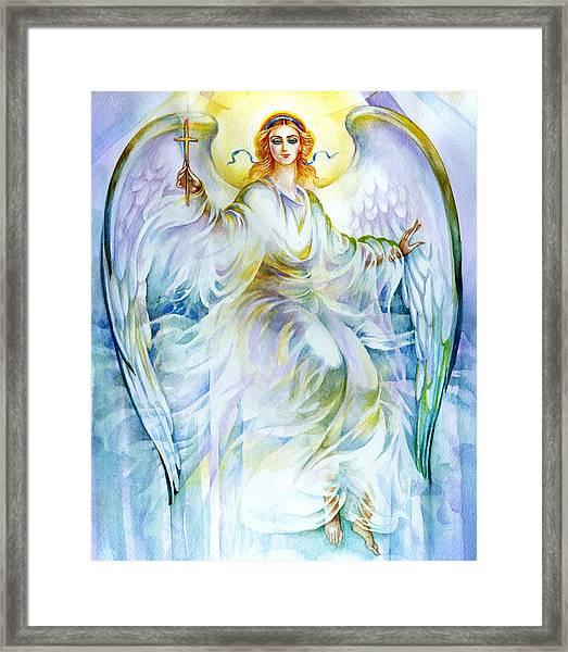 Angel Of Love Framed Print