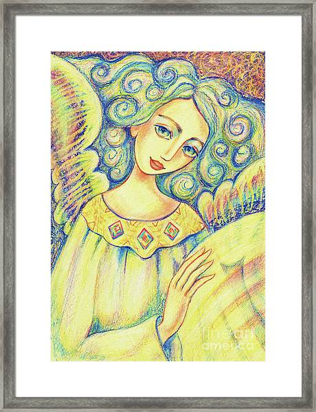 Angel Of Mercy Framed Print