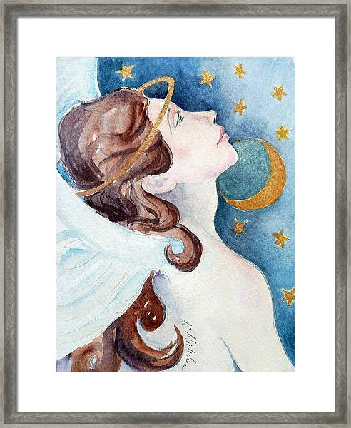 Angel Of Receiving Framed Print