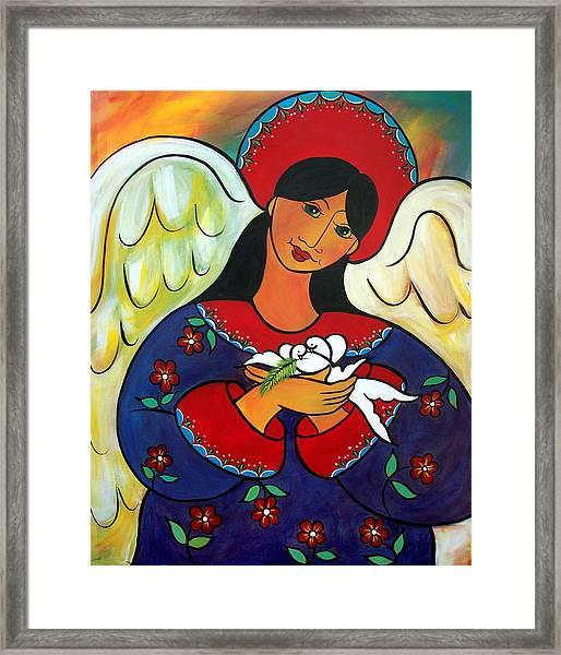 Angel Of Renewal Framed Print