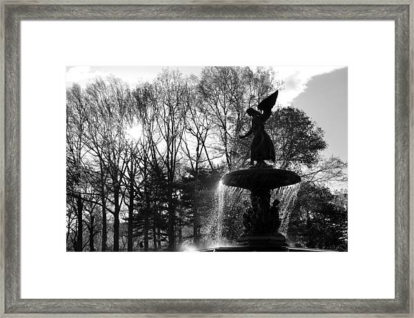 Angel Of The Waters Framed Print by Andrew Dinh