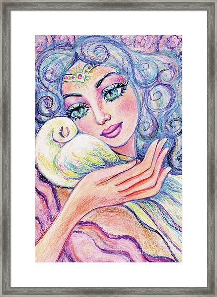 Angel Of Tranquility Framed Print