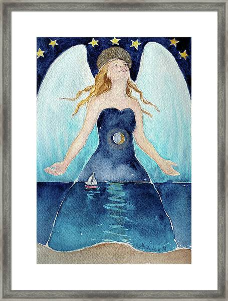Angel Of Transcendence Framed Print