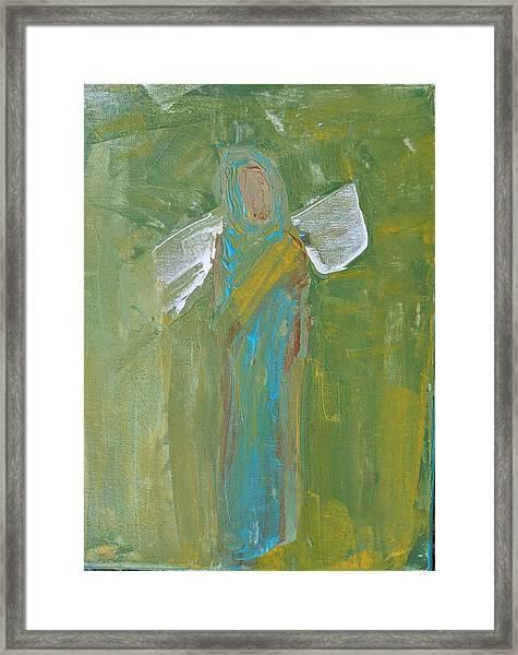 Angel Praise And Worship Framed Print
