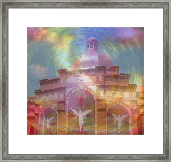 Angel Sanctuary Framed Print