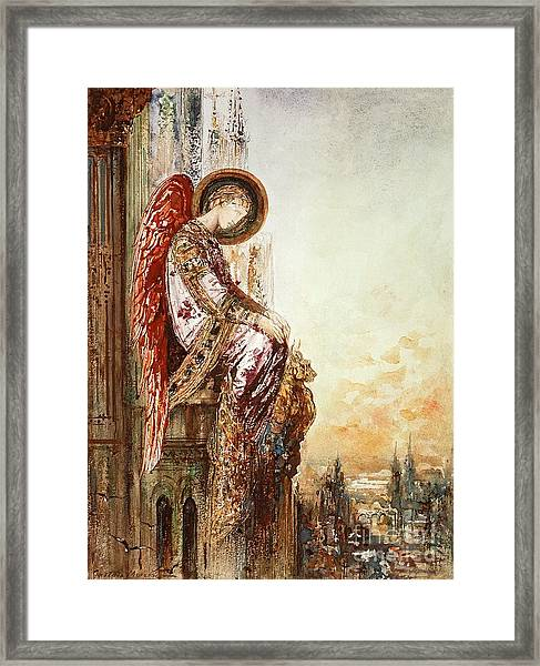 Angel Traveller Framed Print