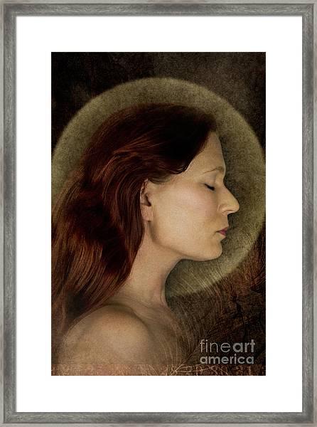 Angelic Portrait Framed Print