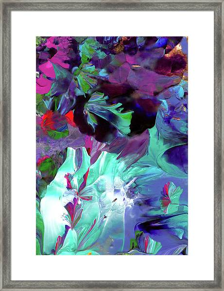 Angel's Teardrop Framed Print