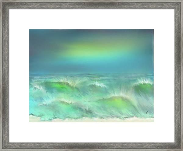 Angry Irma Framed Print
