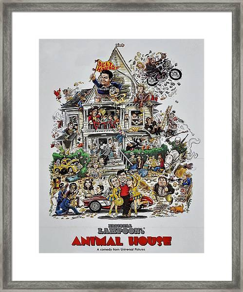 Animal House  Framed Print