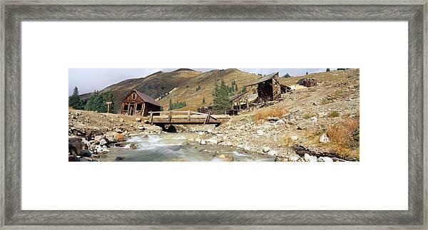 Animas Forks Ghost Town, Colorado Framed Print