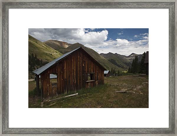 Animas Forks Framed Print