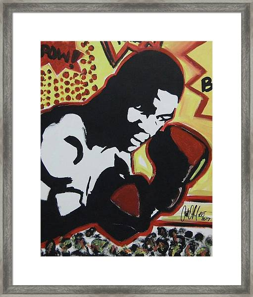 Animated Mike Framed Print