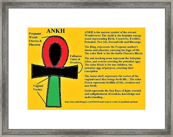 Ankh Meaning Framed Print