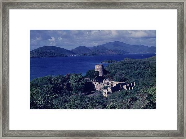 Annaberg Ruins And Sugar Mill Framed Print
