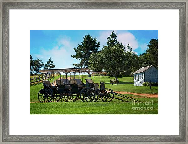 Anne Of Green Gables Framed Print