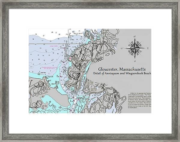 Annisquam And Wingaersheek Beach Framed Print