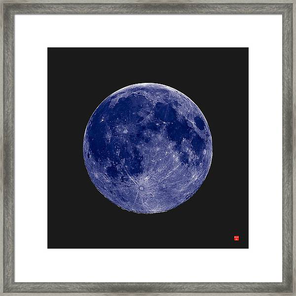 Another Blue Moon Framed Print