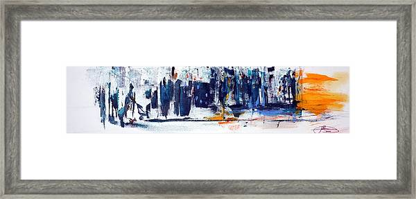 Another Day In New York City Framed Print